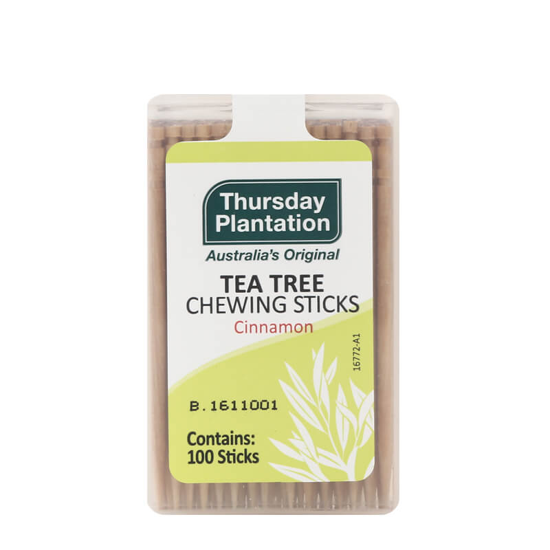 Tea Tree Chew Sticks Cinnamon