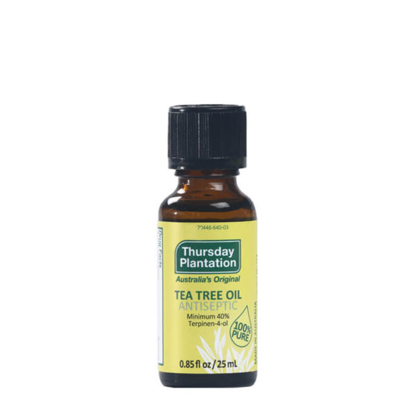100% Pure Tea Tree Oil 25mL